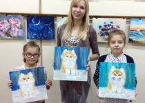 Мы с Машей и Ритой, и нашими котятами :)