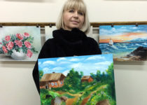 Летняя деревенька у нашей прекрасной Юлии получилась очень сочной!