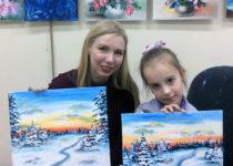 Занятия по живописи маслом для детей от 8 лет