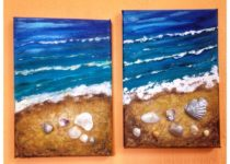 Эти картины создали Мама Мария и Дочка Анюта